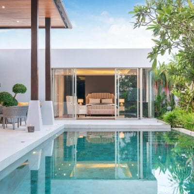 Modern ADU by Pool