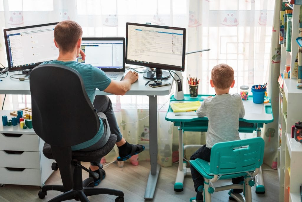 ADU - Shared Family Work Spaces