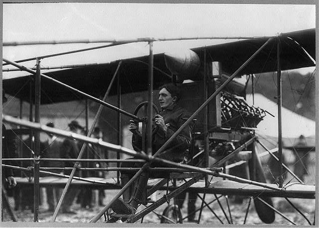 Charles Hamilton Breaks the Air Record