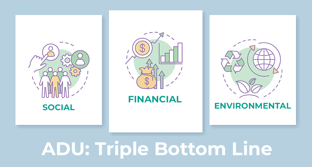 ADU: Triple Bottom Line