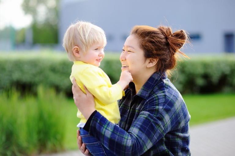 Nanny Au-Pair with Child